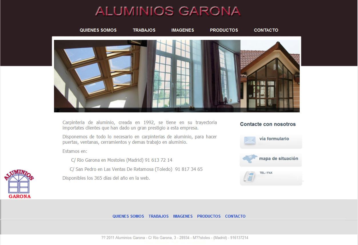aluminios garona
